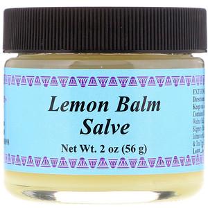 Lemon Balm Salve, LLC, 2 oz (56 g), WiseWays Herbals