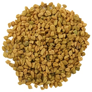Fenugreek Seed, Organic Whole, 100gm, Frontier Natural Products