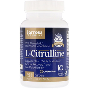 L-Citrulline, 60 Tablets, Jarrow Formulas