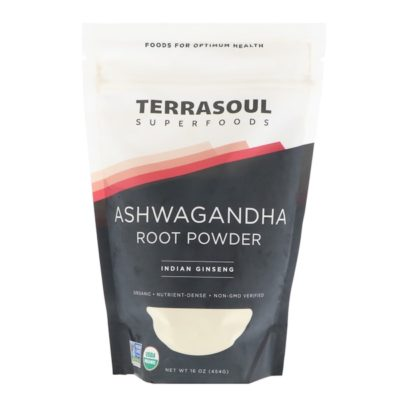 Ashwagandha Root Powder, Indian Ginseng, 16 oz (454 g), Terrasoul Superfoods
