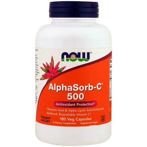 AlphaSorb-C 500, 180 Veggie Caps, Now Foods
