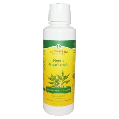 Neem Mouthwash, Herbal Mint Therape, 16 fl oz (480 ml), Organix South, TheraNeem Naturals