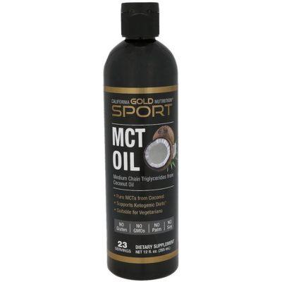 MCT Oil, 12 fl oz (355 ml), California Gold Nutrition