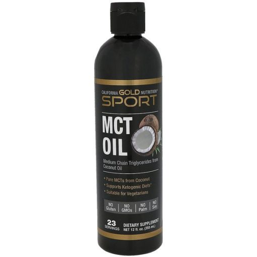 MCT Oil, 12 fl oz (355 ml), California Gold Nutrition