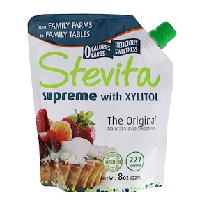 Supreme with Xylitol, Original, 8 oz (227 g), Stevita