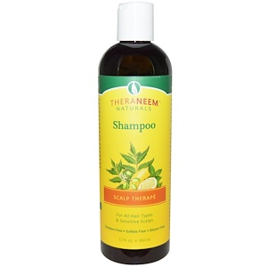 Shampoo, Scalp Therapé, 12 fl oz (360 ml), Organix South, TheraNeem Naturals