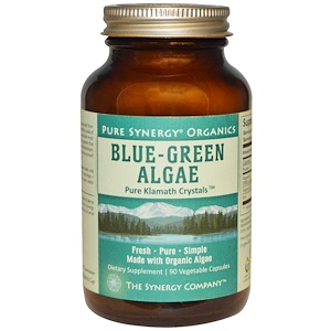 Blue-Green Algae, Organic, 90 Veggie Caps, The Synergy Company