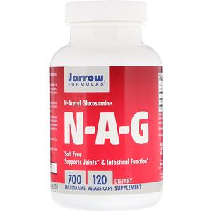N-A-G, 700 mg, 120 Veggie Caps, Jarrow Formulas