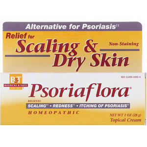 Psoriaflora, Topical Cream, 1 oz (28 g), Boericke & Tafel