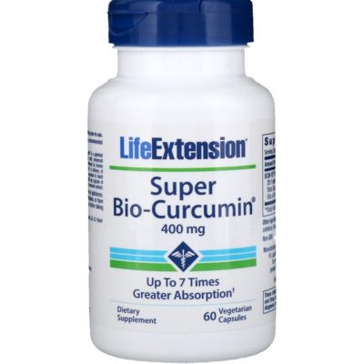 Super Bio-Curcumin, 400 Mg, 60 Veggie Caps, Life Extension