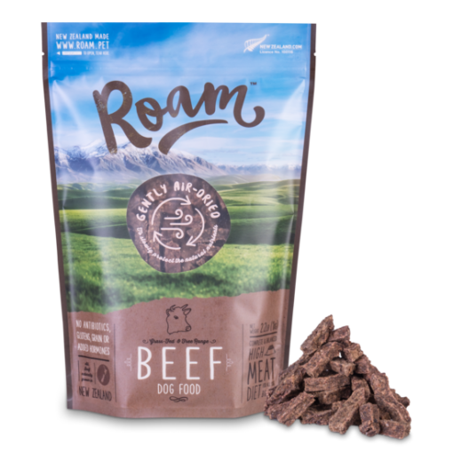 Beef, Dog Food, Air Dried, 1kg, Roam