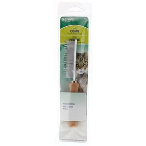 Cat Shedding Comb for All Breeds of Cats, Safari