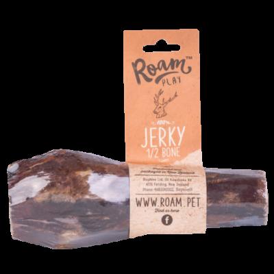 Jerky, 1/2 Bone, Dog Treat, Air Dried, 150gm, Roam, Play