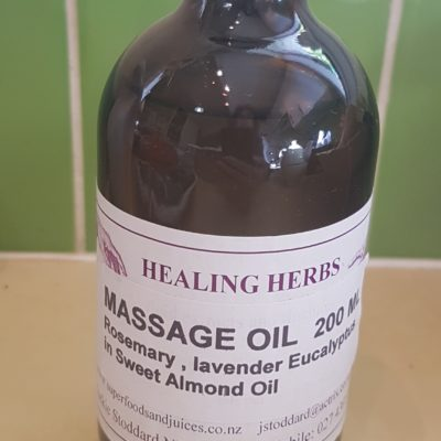 Massage Oil, 200 ml
