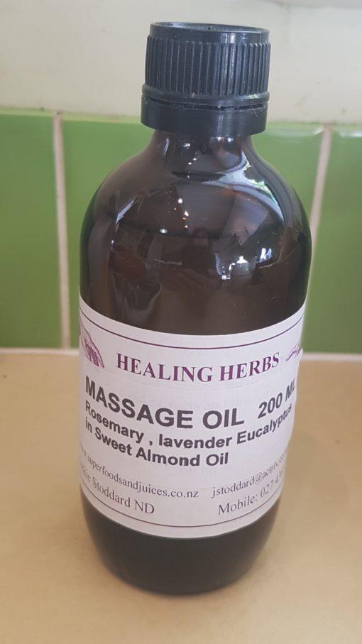 Massage Oil, 200 ml