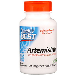 Artemisinin, (Wormwood) 100 mg, 90 Veggie Caps, Doctors Best