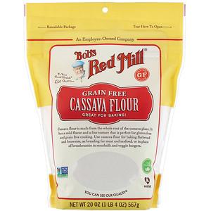 Cassava Flour, 20 oz (567 g), Bob's Red Mill