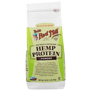 Hemp Protein Powder, 16 oz (453 g), Bob's Red Mill