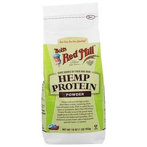 Hemp Protein Powder, 16 oz (453 g), Bob's Red Mill