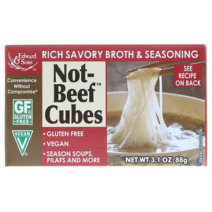 Not-Beef Cubes, 3.1 oz (88 g), Edward & Sons