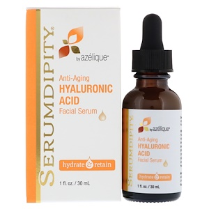 Anti-Aging Hyaluronic Acid, Facial Serum, 1 fl oz (30 ml), Azelique, Serumdipity