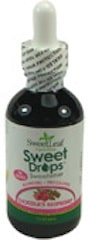SweetLeaf Liquid Stevia, Sweet Drops Sweetener, Chocolate Raspberry, 2 fl oz (60 ml), Wisdom Natural
